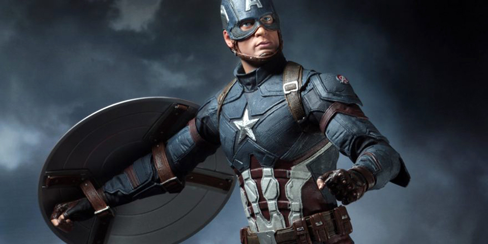 Review/Unbox: Figura de acción coleccionable -NECA 1/4 Captain America Civil War-